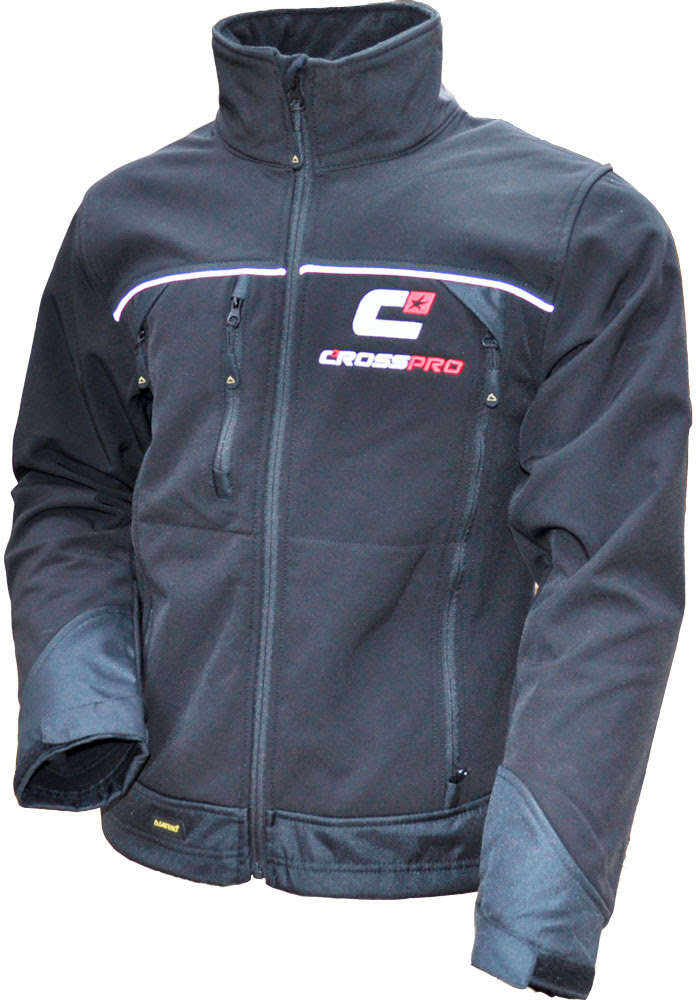 CrossPro Soft Shell Jacket (L) Black - 2CP121000_0004.JPG