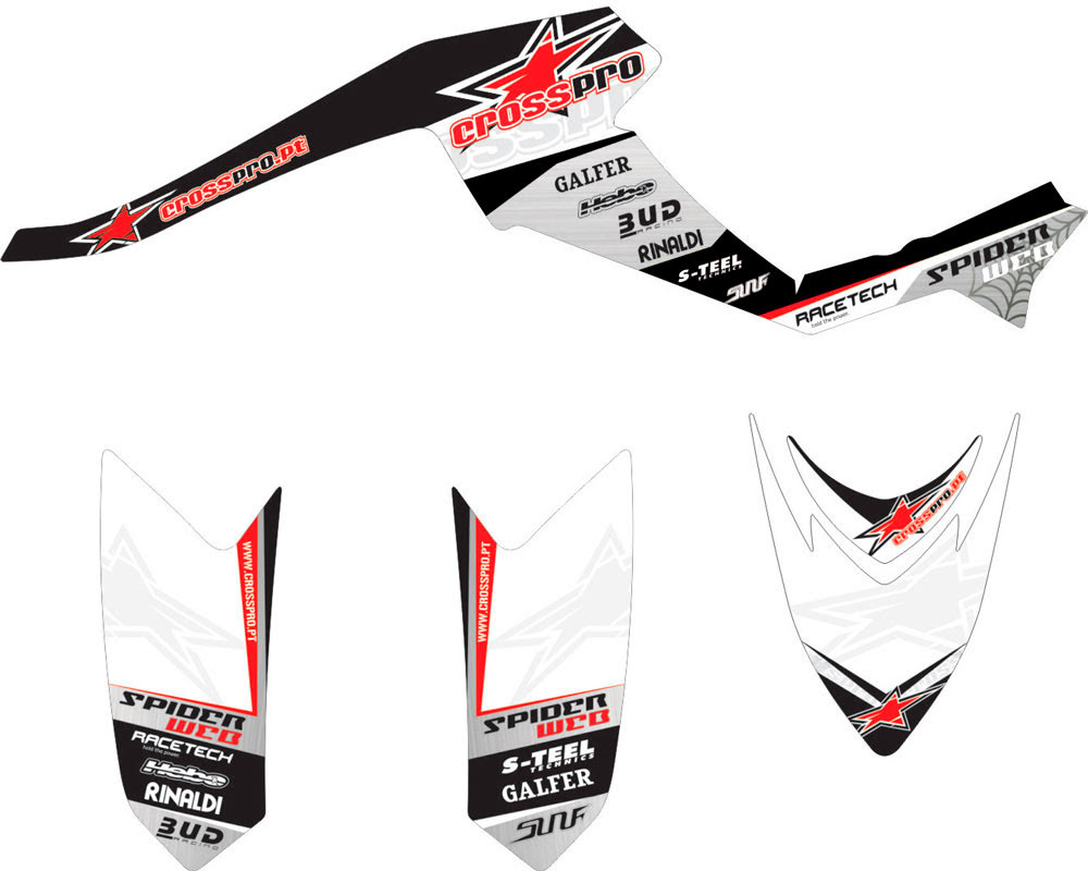 AC02DVX400.JPG - KIT AUTOCOLANTES LIGHT CROSS-PRO ARTICAT DVX 400 •Arctic Cat-» 400 DVX 2004, 400 DVX 2006-2008