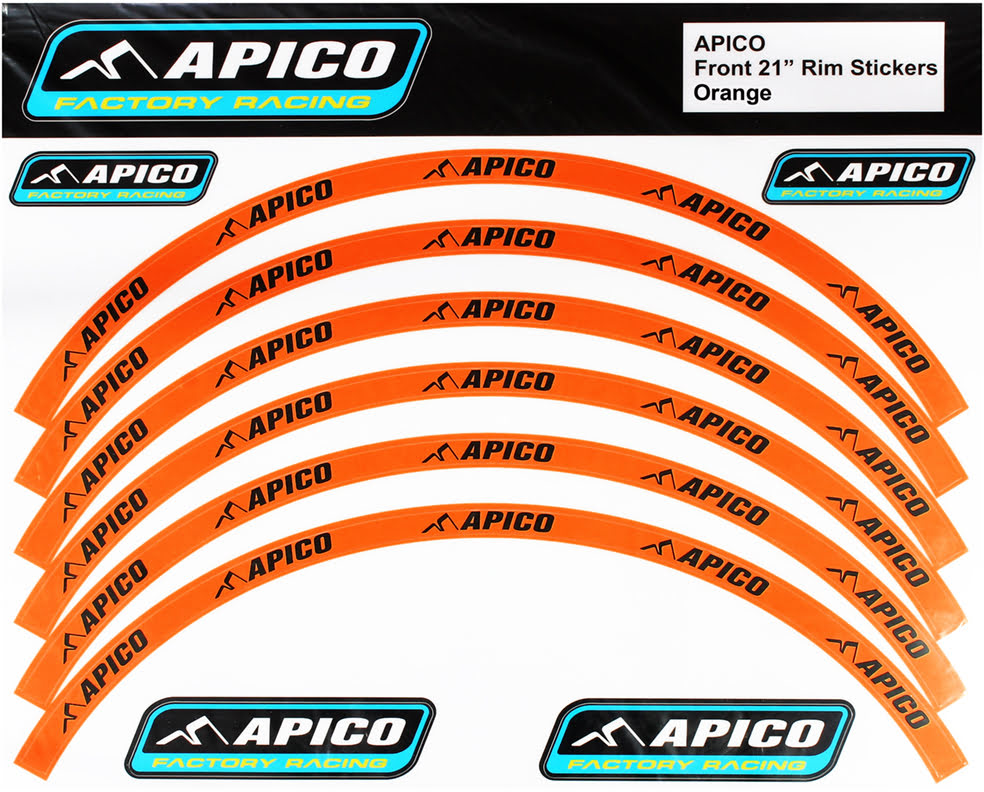 "RIM STICKER KIT 21"" FRONT & 18"" REAR ORANGE/BLACK - RIMSTICKER-ORA-BLK.JPG"