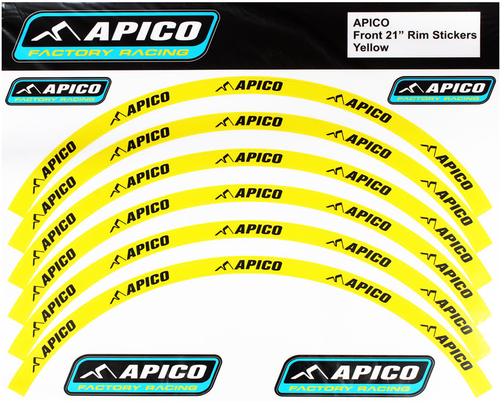 "RIM STICKER KIT 21"" FRONT & 18"" REAR YELLOW/BLACK - RIMSTICKER-YLW-BLK.JPG"